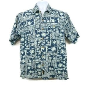 Timberland Tropical Palm Tree Casual Button Down
